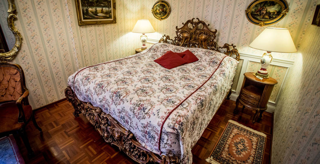 Hää-sviitin sänky park hotellissa